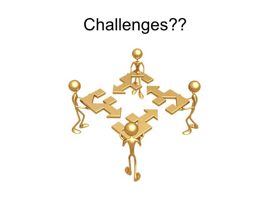 Challenges??