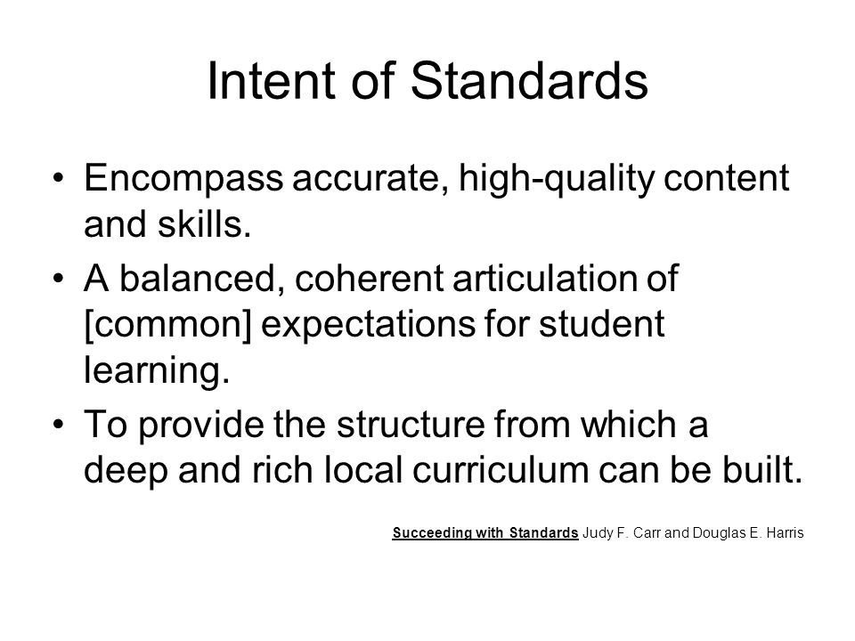 What does research tell us about standards-based classrooms.