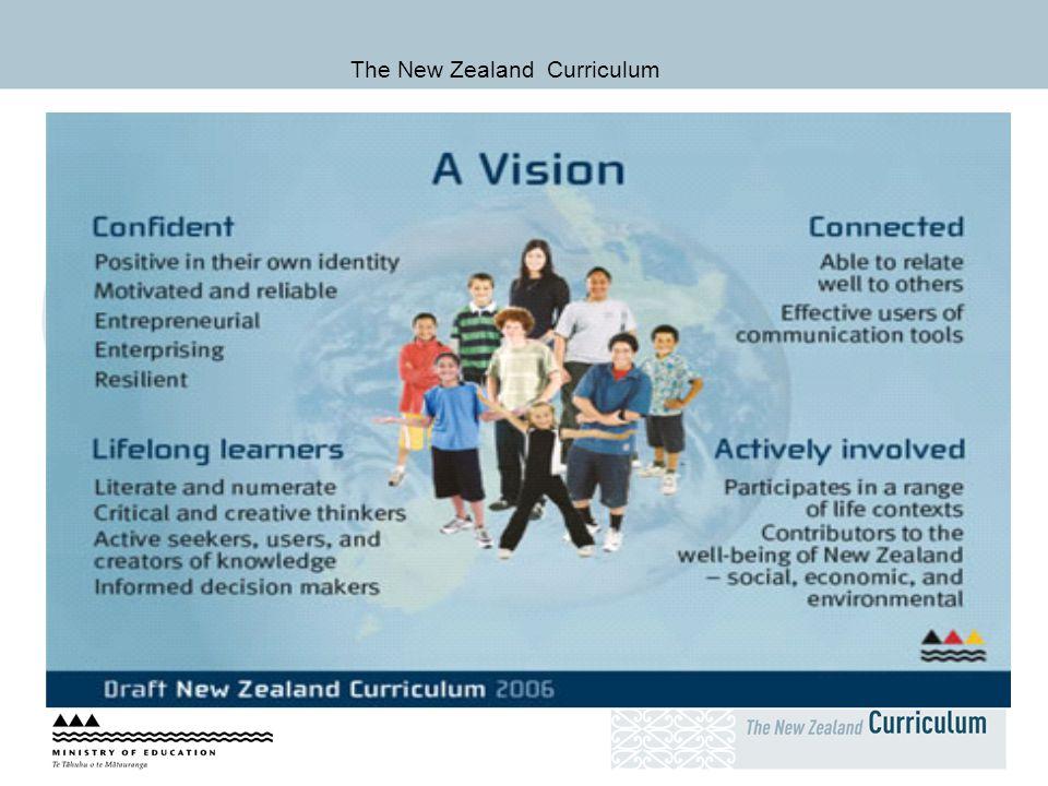 The New Zealand Curriculum, &