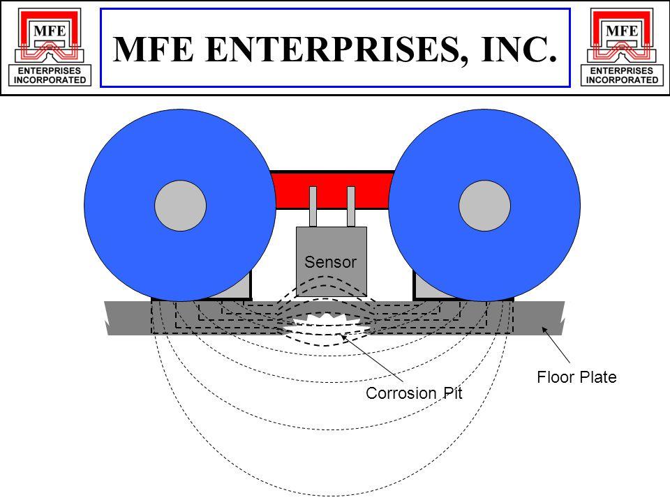 N S Floor Plate Sensor Corrosion Pit MFE ENTERPRISES, INC.