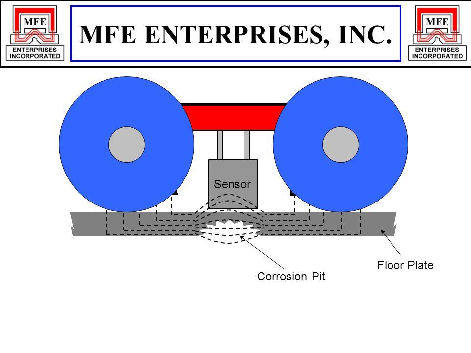 Floor Plate Corrosion Pit N S Sensor MFE ENTERPRISES, INC.