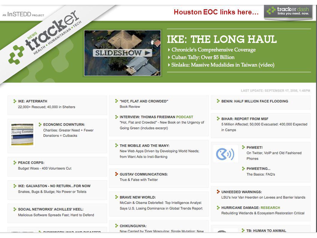 Houston EOC links here…