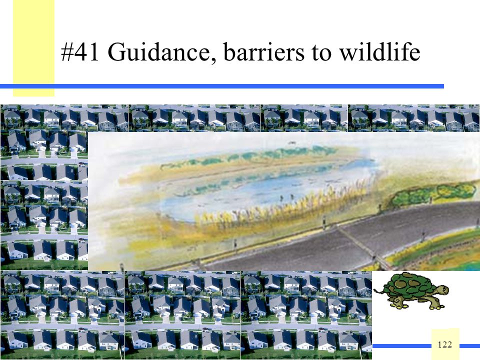 122 This variable is defined as a measure of habitat fragmentation of the wetland relative to other wetlands and native plant communities to indicate