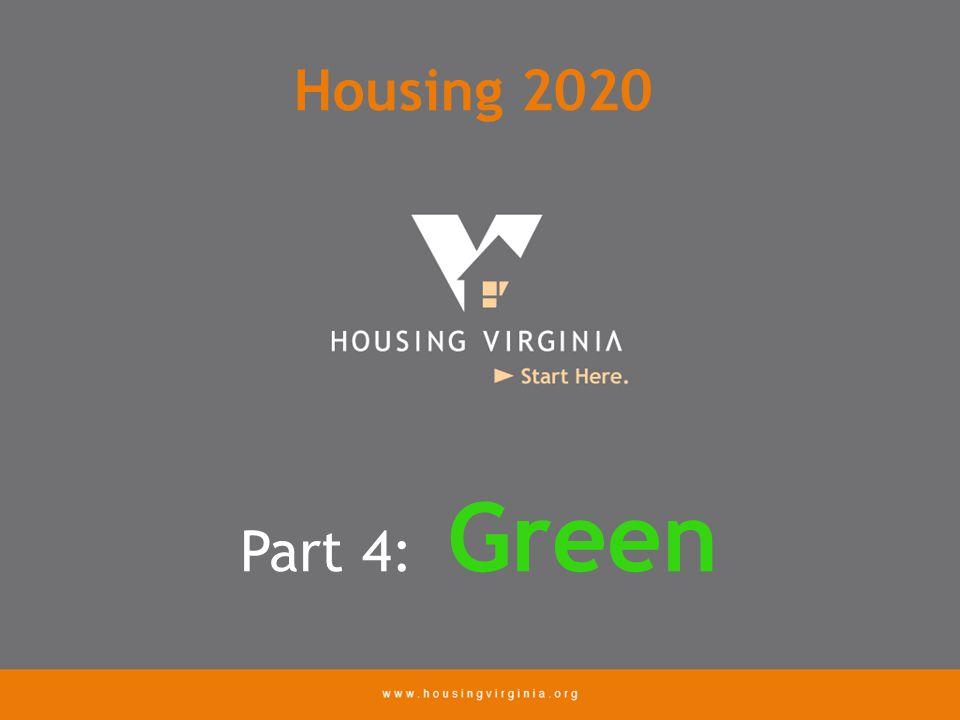 Part 4: Green Housing 2020