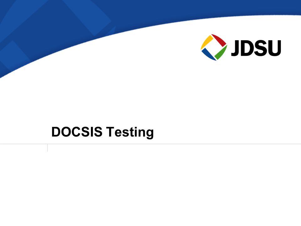 DOCSIS Testing