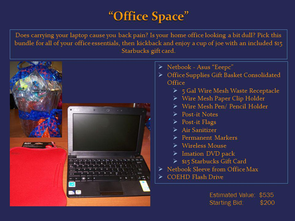 Does carrying your laptop cause you back pain. Is your home office looking a bit dull.