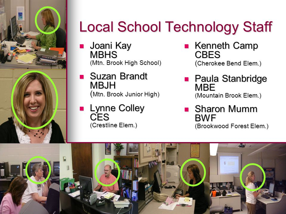 Local School Technology Staff Joani Kay Joani Kay MBHS (Mtn.