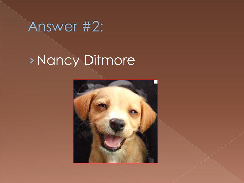 Nancy Ditmore