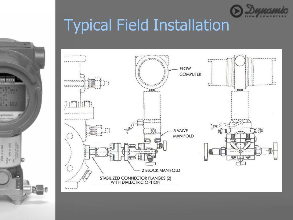 Typical Field Installation