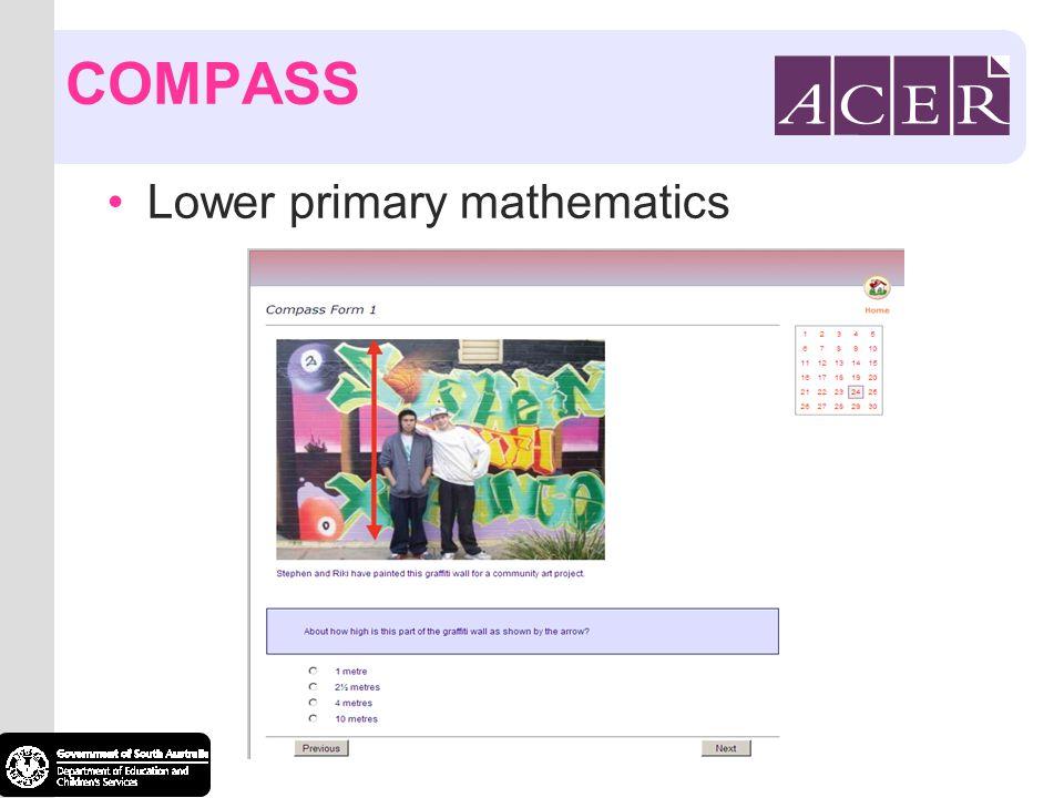 COMPASS Lower primary mathematics