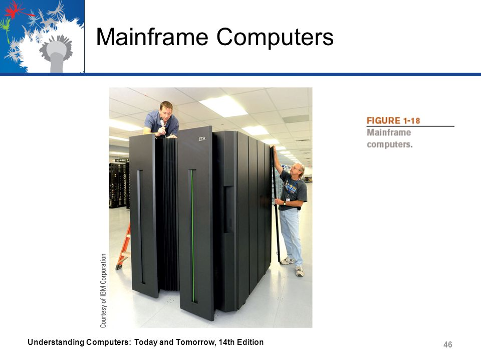 Mainframe Computers Understanding Computers: Today and Tomorrow, 14th Edition 46