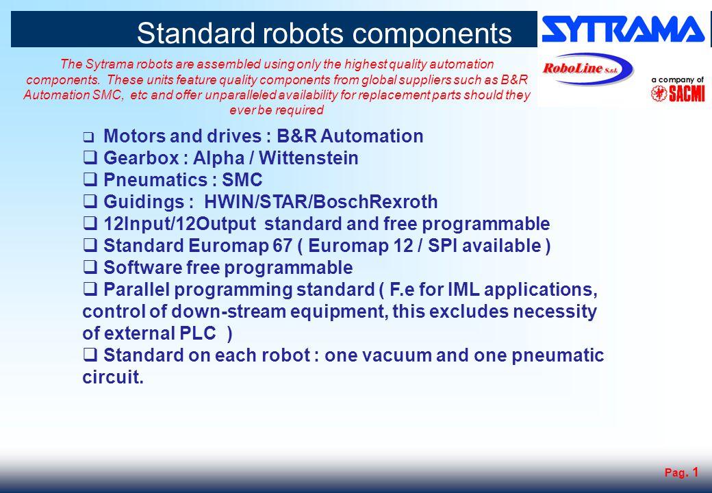 Pag. 2 3 axis robot range