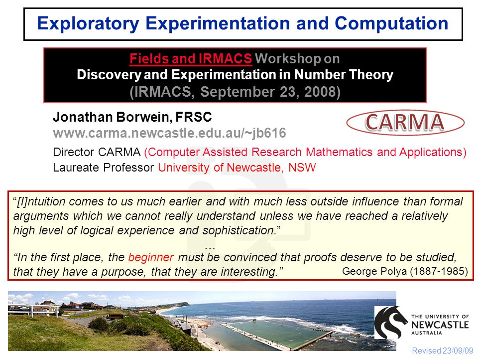 Two Discoveries: 1995 and 2005 Two computer-discovered generating functions (1) was intuited by Paul Erdös (1913-1996) and (2) was a designed experiment was proved by the computer (Wilf-Zeilberger) and then by people (Wilf included) What about 4k+1.