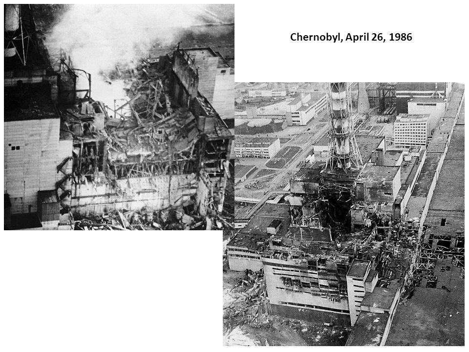 Chernobyl, April 26, 1986