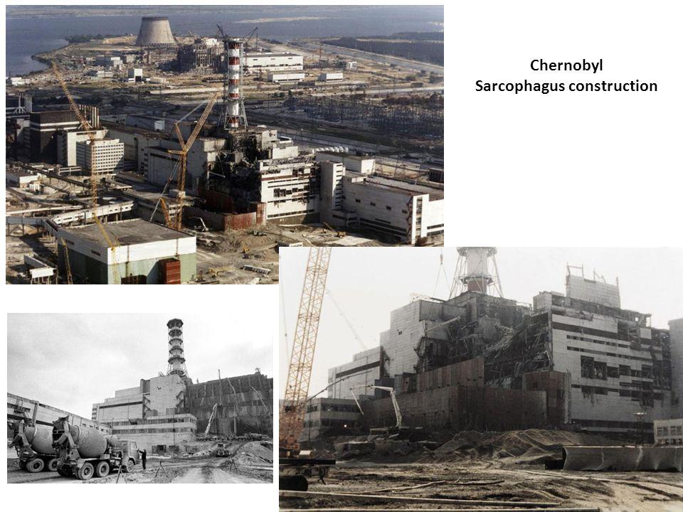 Chernobyl Sarcophagus construction