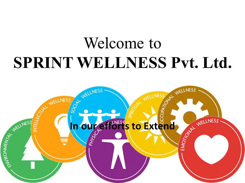 Welcome to SPRINT WELLNESS Pvt. Ltd. In our efforts to Extend