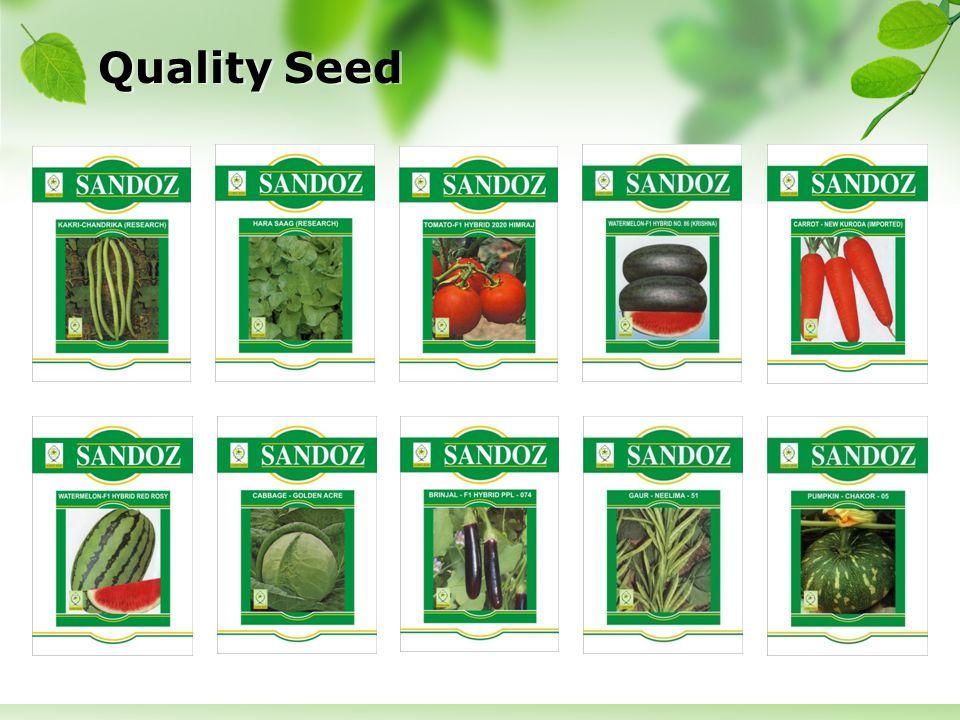 Quality Seed