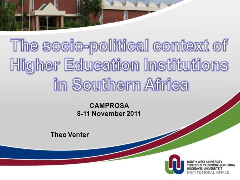 Theo Venter CAMPROSA 8-11 November 2011