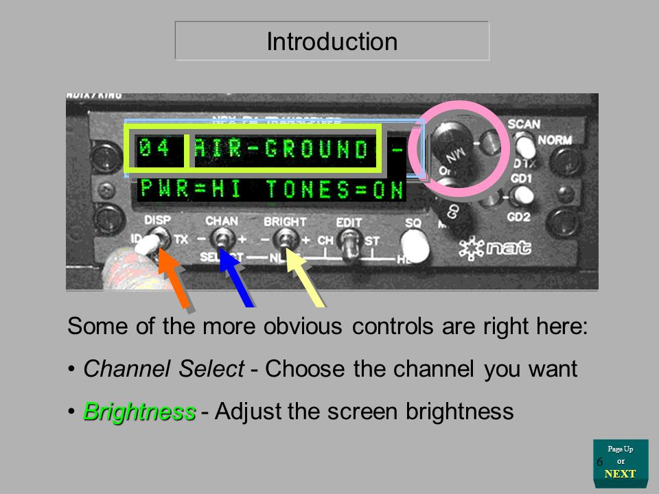 Page Up or NEXT Introduction The position of the EDIT switch governs the way in which the other switches operate. This is a pull-type lockout toggle s