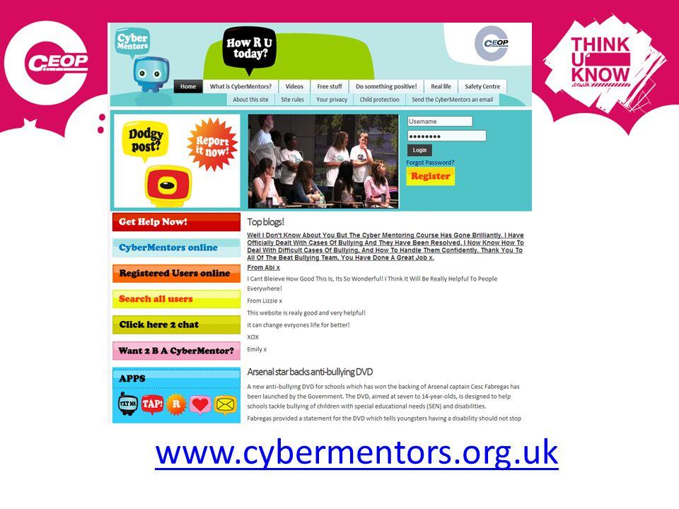www.cybermentors.org.uk