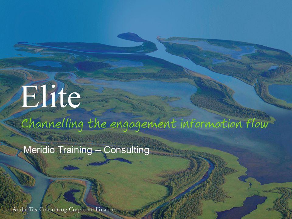 1 Meridio Training – Consulting Elite