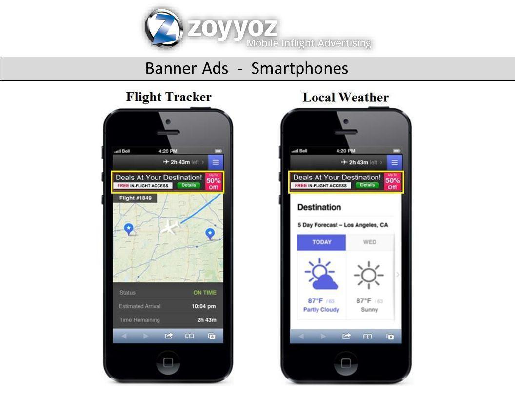 Banner Ads - Smartphones