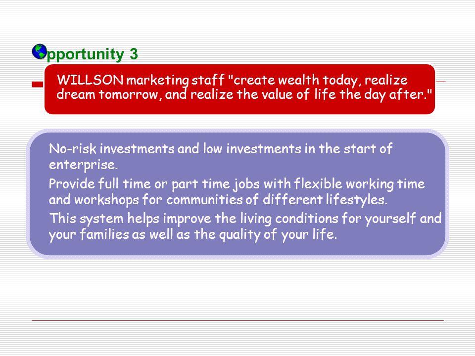 WILLSON marketing staff