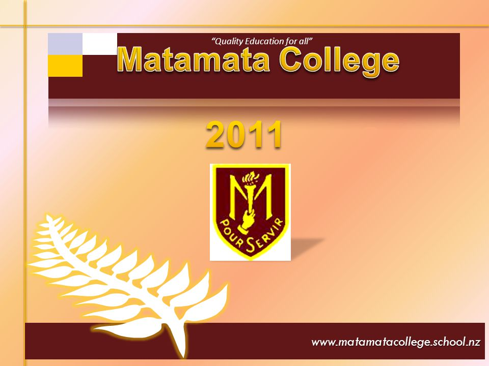 Principal: G Rowsell BA; Dip Ed; Dip Drama; Dip School Leadership I am very proud to be principal of Matamata College- a school that has 80 years of tradition, experienced excellent teachers, a good academic record, well resourced classrooms and a beautiful environment in which we learn.