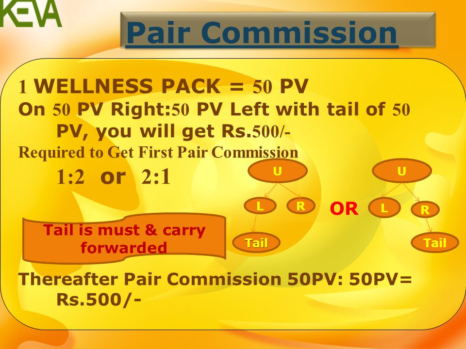$ Pair Commission Retail Income Generation Income Leadership Bonus Rewards Royalty Incentive 1.Pair commission closing every Tuesday & another payout