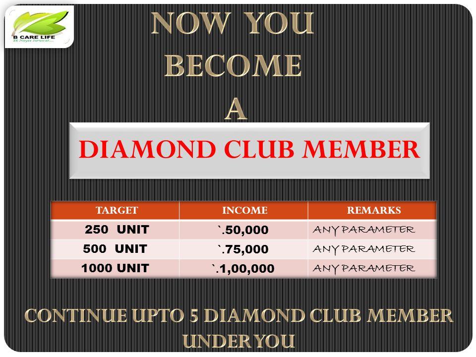 DIAMOND CLUB MEMBER