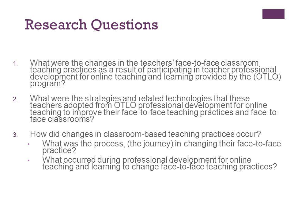 Research Approach Multiple-case study (teacher = unit of analysis = case) Qualitative Comparative a.k.a.