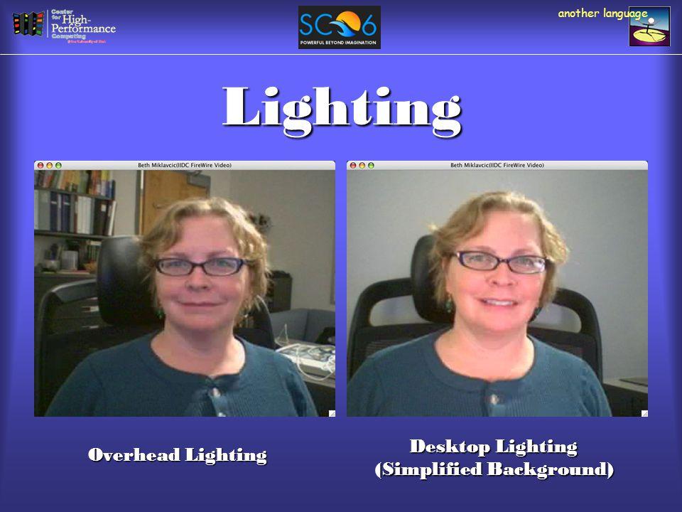 Lighting Overhead Lighting Desktop Lighting (Simplified Background)