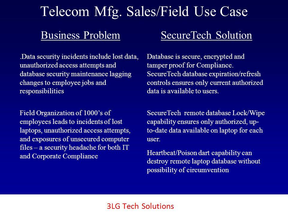 3LG SecureTech Telecom Mfg.
