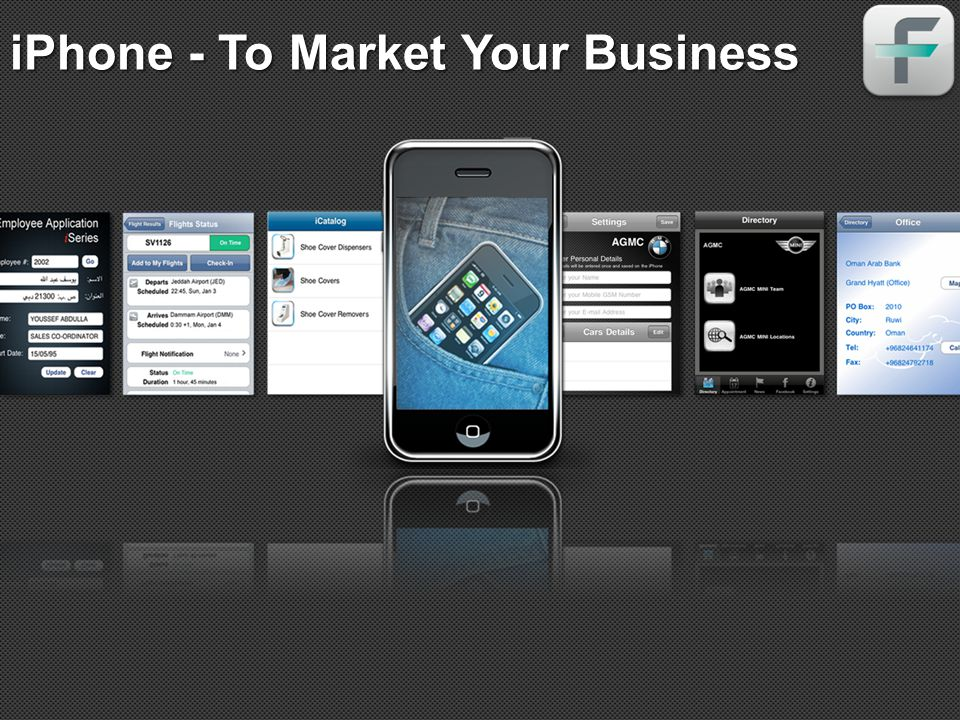 iPhone - To Market Your Business