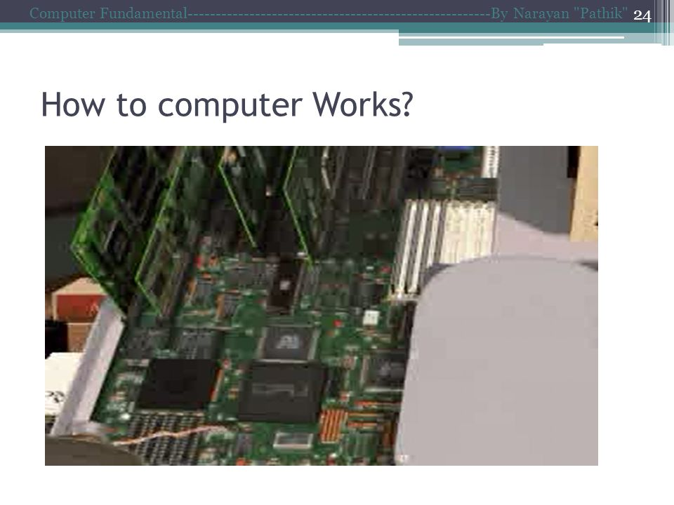 How to computer Works.