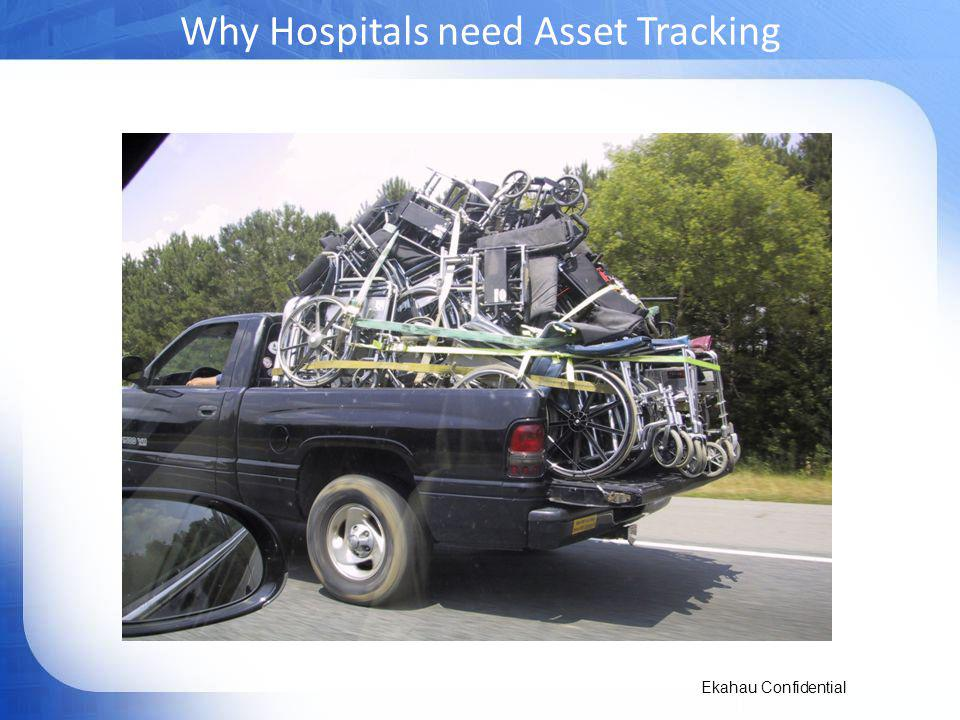 Ekahau Confidential Why Hospitals need Asset Tracking