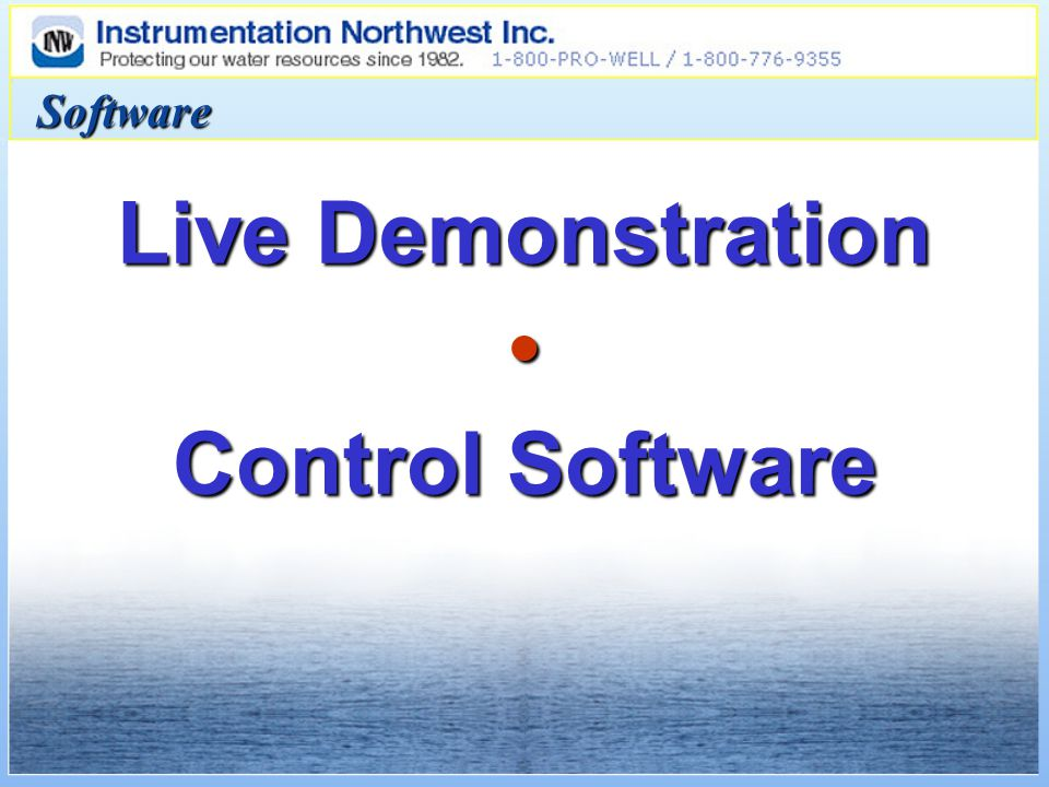 Live Demonstration Control Software Software