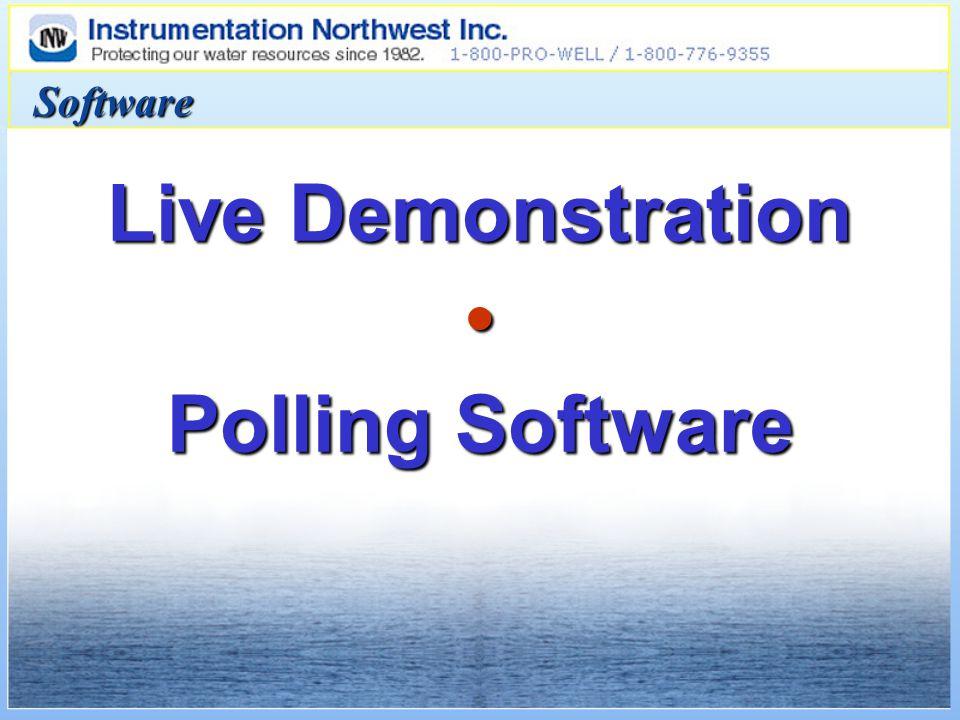 Live Demonstration Polling Software Software