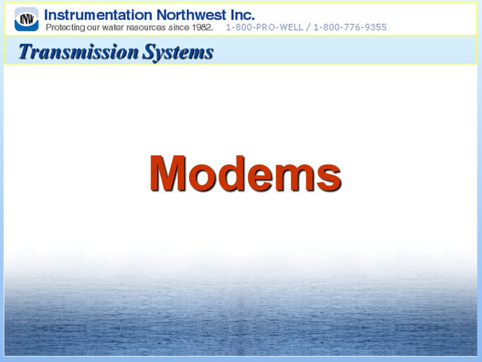 Transmission Systems Modems