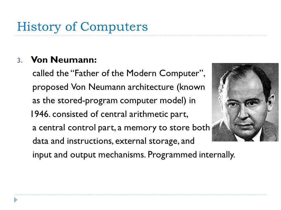 History of Computers 3.