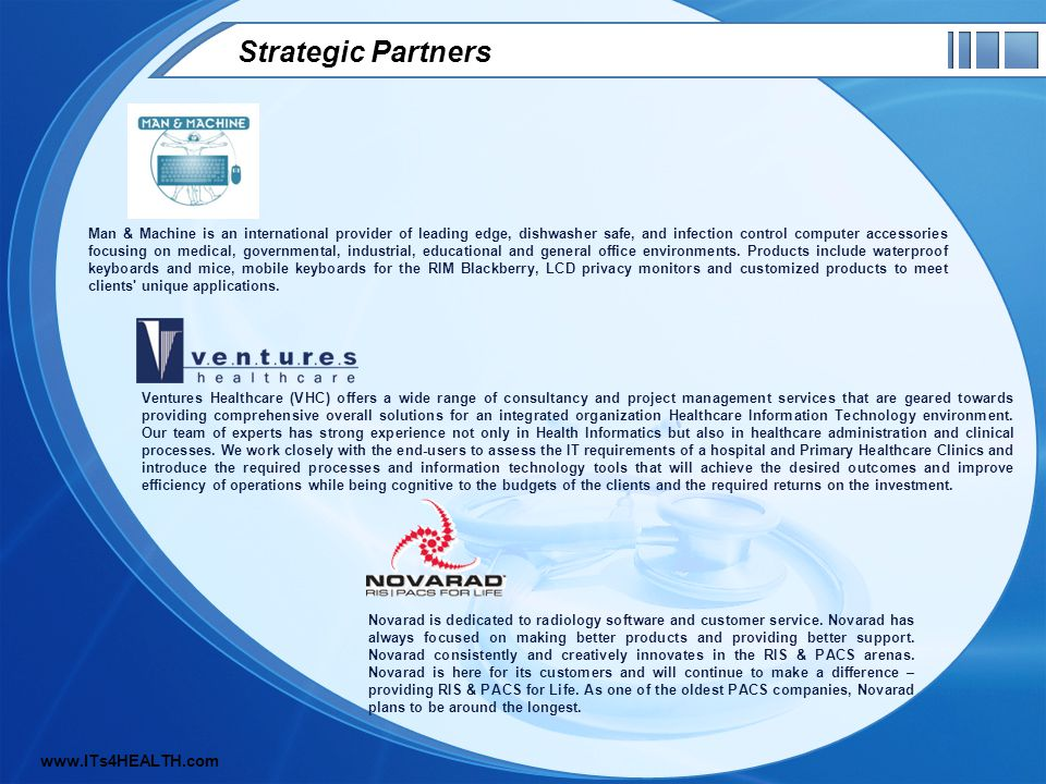 Strategic Partners Man & Machine is an international provider of leading edge, dishwasher safe, and infection control computer accessories focusing on medical, governmental, industrial, educational and general office environments.
