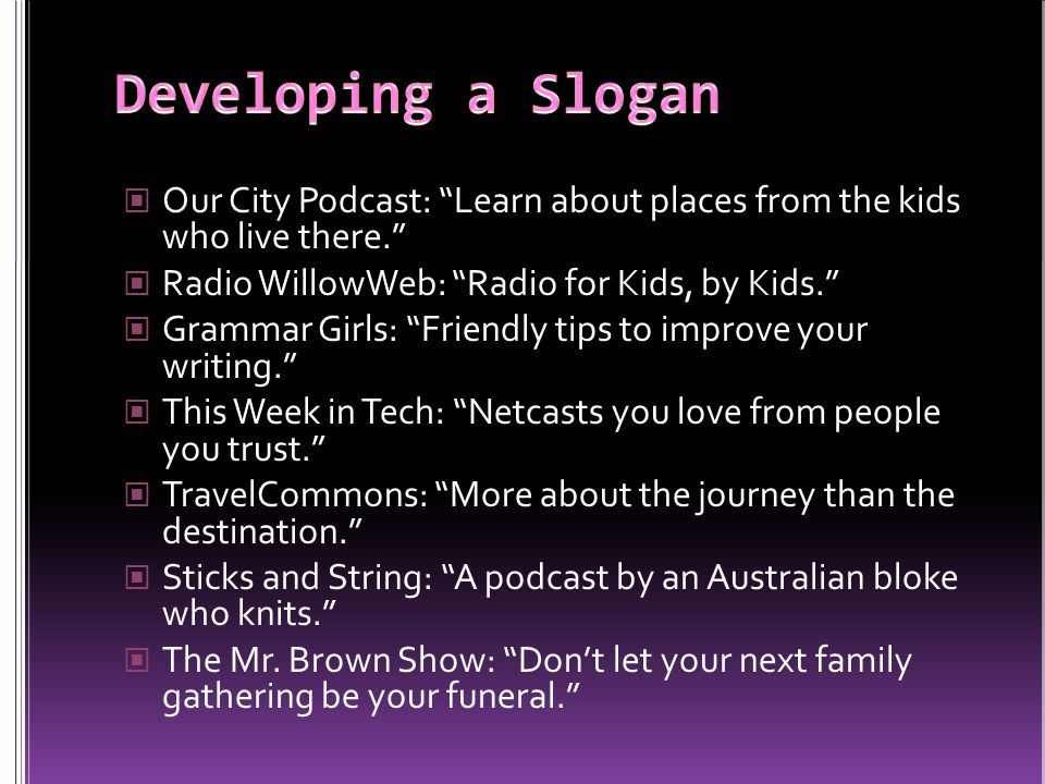 Our City Podcast: Learn about places from the kids who live there.