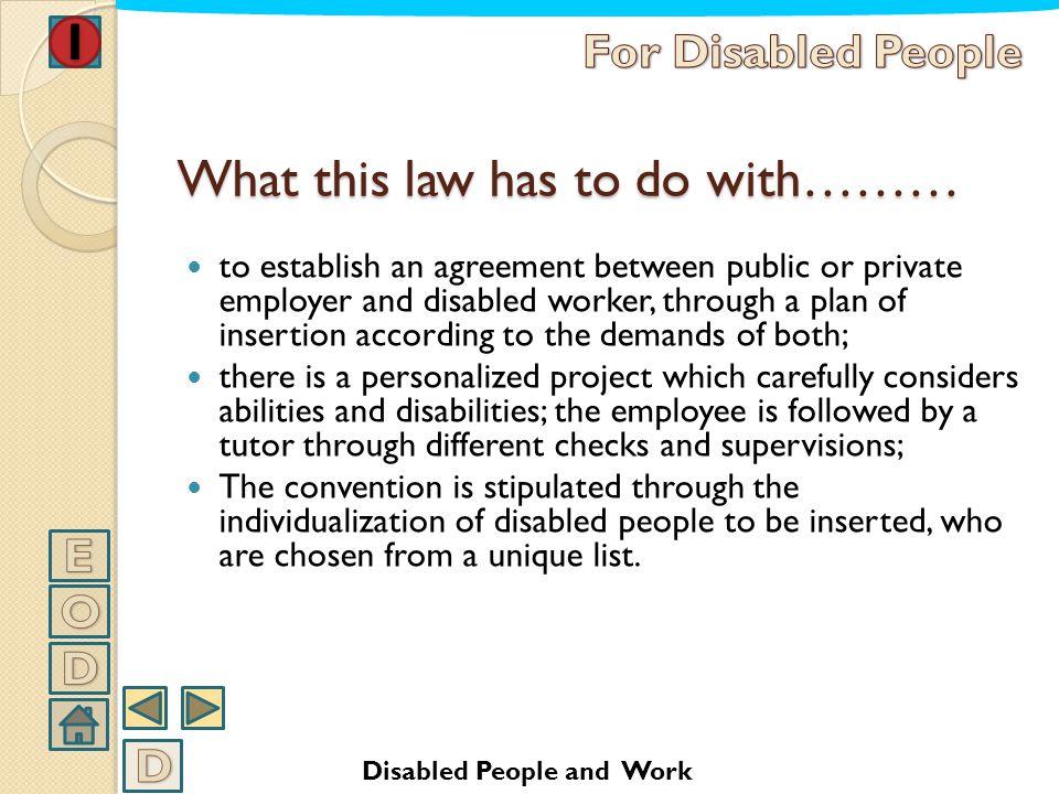 Law nr. 68/99