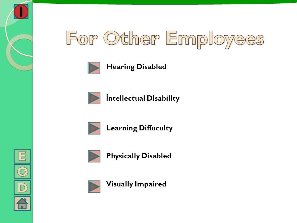 *** Normal workers shoud know what should be done about despotism and annoyance because they are informed. *** Workers with disability who are indefen