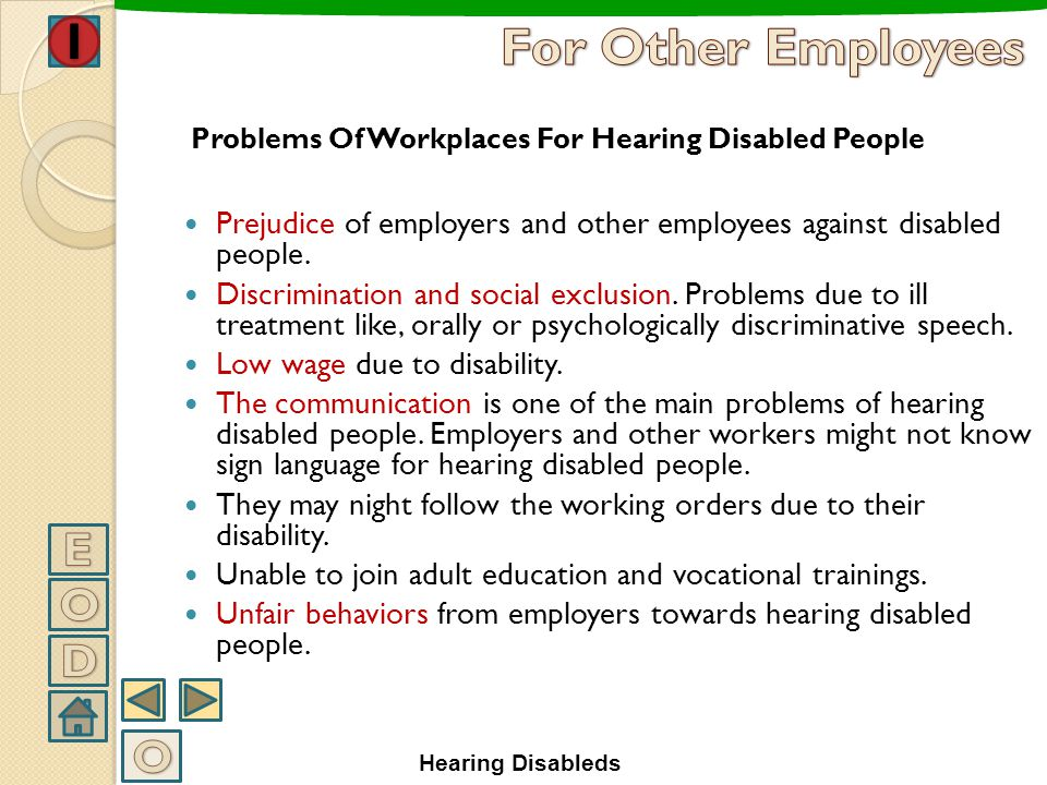 A hearing impairment or hearing loss is a full or partial decrease in the ability to detect or understand sounds. People who are severely deaf rely a