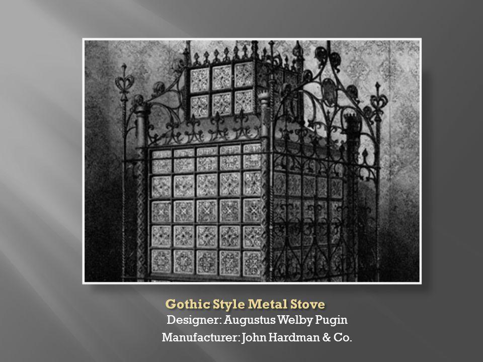 Designer: Augustus Welby Pugin Manufacturer: John Hardman & Co.