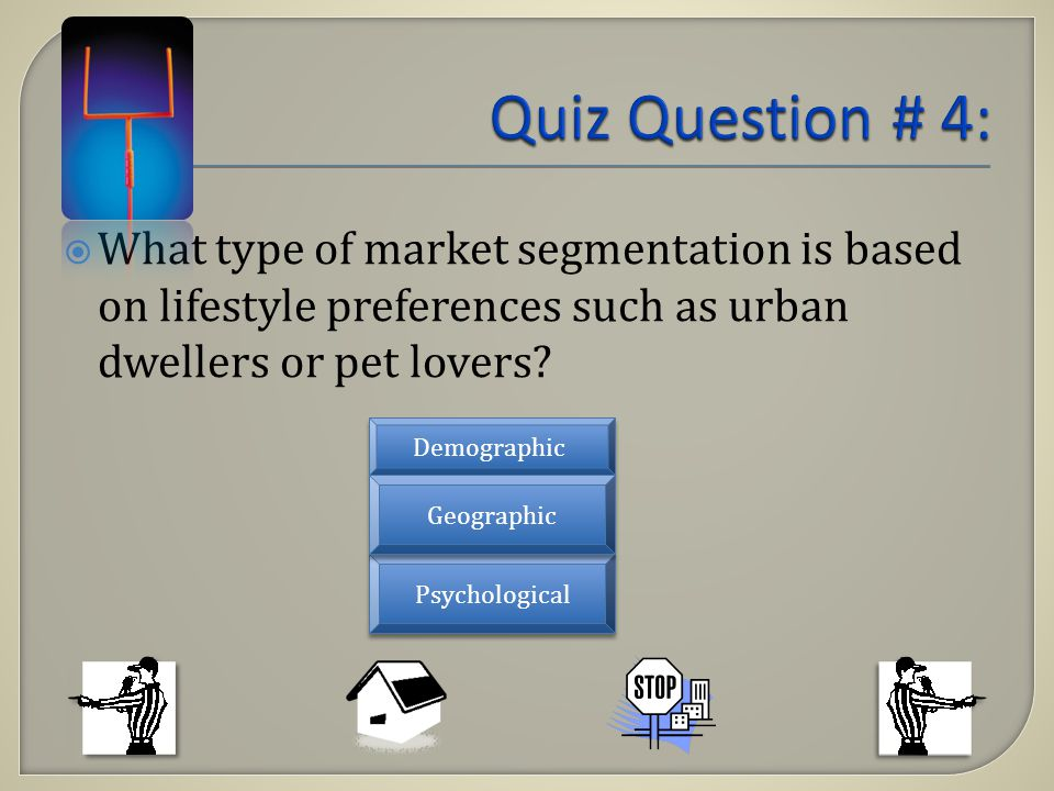 What type of market segmentation is based on lifestyle preferences such as urban dwellers or pet lovers.