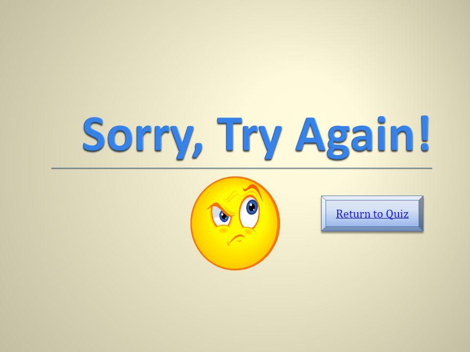 Return to Quiz