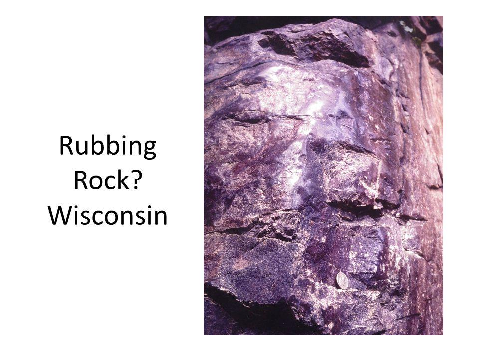 Rubbing Rock Wisconsin