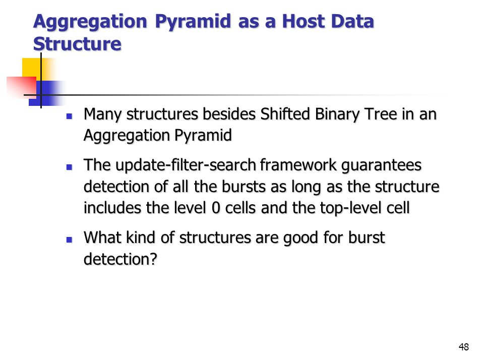47 Embed Shifted Binary Tree in Aggregation Pyramid